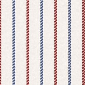 Baseball Ball Stitch Ticking Stripe on Soft Gray - Sandlot Sports Collection
