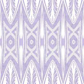 Tribal Shield Pattern in Velvety Lilac