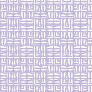 Velvety Weave in Pale Lilac