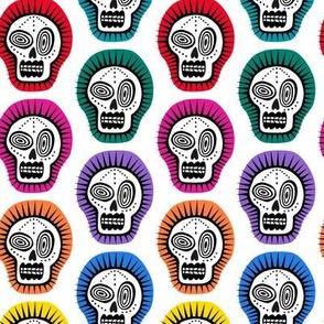 spiky skull jewels