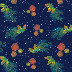 Dinoriffic-Bursts _ Leaves-Navy