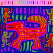 Mola - Pony - Pink Border