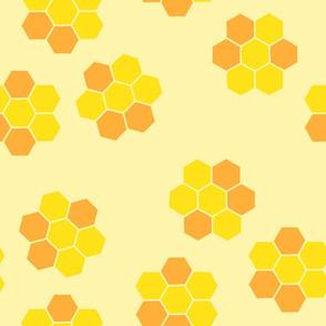 spring bee honeycomb
