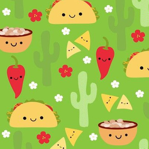 XL Happy Taco and Friends - Green