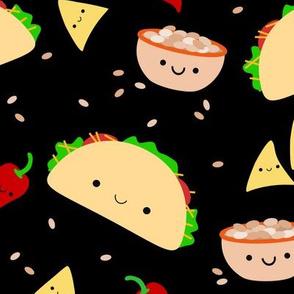 XL Taco Tuesday Party - Black