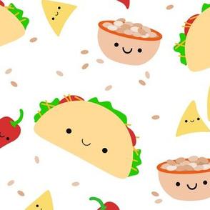 XL Taco Tuesday - White