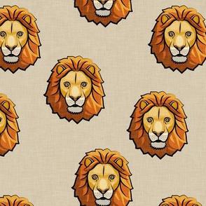 Lion - tan - LAD19