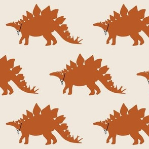 Cool Stegosaurus with  $ Chain in natural colours