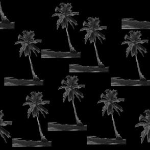 black tropical tree