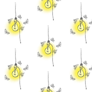 lightbulb w moths glow4
