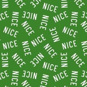 Nice - green toss - LAD19