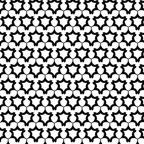 LATTICE small - Black and White