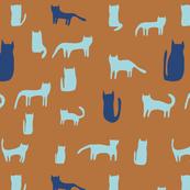 Cats in Orange