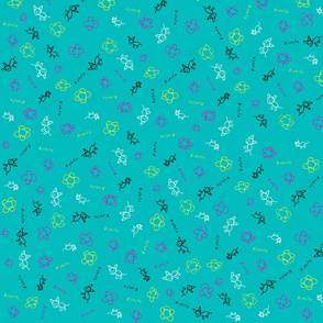 Everlie-fabric-teal-background