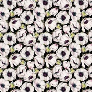 Watercolor Anemones - 039