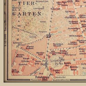 Berlin center map
