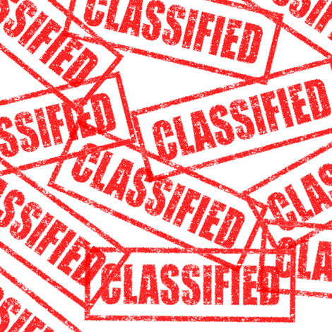 21 classified government military authorized confidential