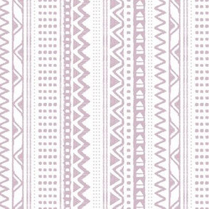 Minimal zigzag mudcloth bohemian mayan abstract indian summer love aztec design mauve purple fall vertical stripes