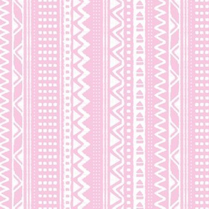 Minimal zigzag mudcloth bohemian mayan abstract indian summer love aztec design soft pink girls vertical stripes