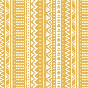 Minimal zigzag mudcloth bohemian mayan abstract indian summer love aztec design dusty  honey yellow ochre vertical stripes