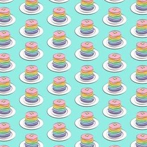 "(3/4"" scale) rainbow pancake stacks C19BS"