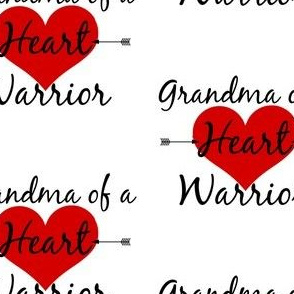 Grandma of a Heart Warrior