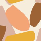 jumbo petals amber and blush