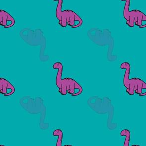 purple brontosaurus