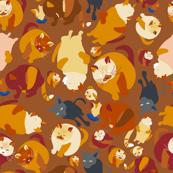 Ragdoll Cat & kitties  (medium version)