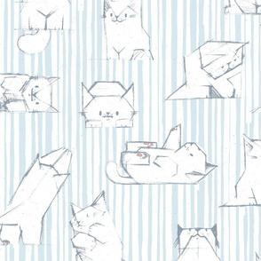 White Kittens M+M H2O by Friztin