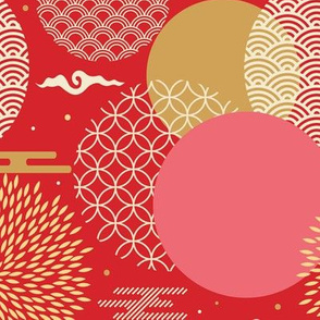 Chinese Fireworks // Red