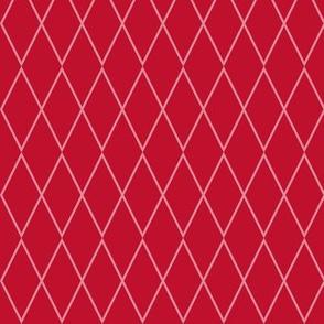 Retro Diamond Red