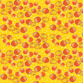 Yellow Dash Oranges