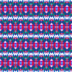 Tie Dye Easter Egg Stripes