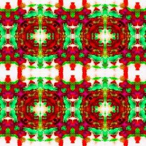 Rich Jeweled Christmas Blocks