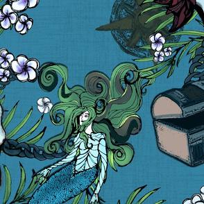 Pirates_ Mermaids and Treasure