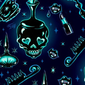 LARGE-Gothic Vanity Pattern