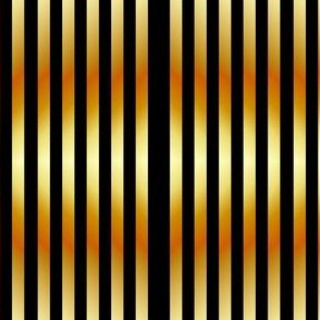 Sparkly gold vertical lines on black