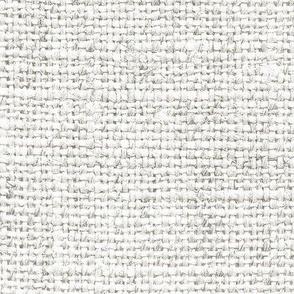 Burlap Texture // Wan White