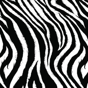 Zebra Print (small-scale) // Vertical
