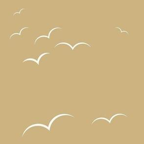 Birds - sand