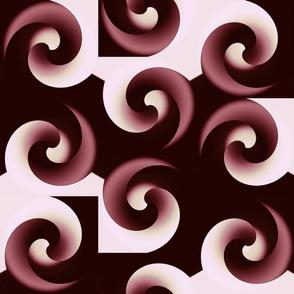 Spiral Incursion - magnolia