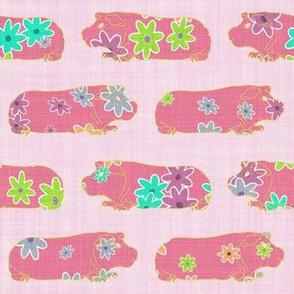 Skinny Pigs Flower Power