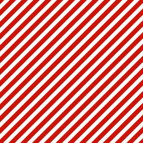 red and white candy stripes red diagonal stripe xmas holiday christmas red and white stripes