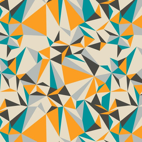 origami - teal