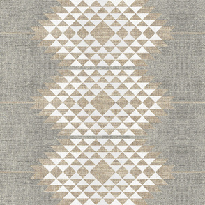 ATIZ DIAMOND LINEN LARGE
