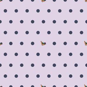 BaB-Gray and Purple Dots