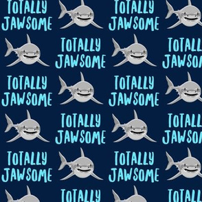 totally jawsome - sharks!- navy - LAD19
