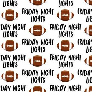 Friday Night Lights Football - White - LAD19
