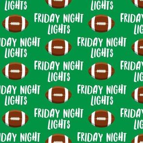 Friday Night Lights Football - Green - LAD19